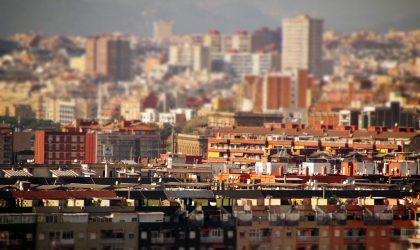 Barcelona vivienda ciudad parque